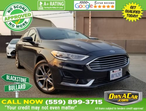 Learn More About This 2019 Ford Fusion SEL