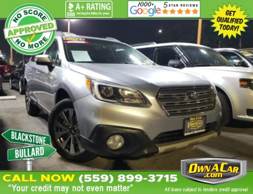 Step Your Safety Game Up in Our 2017 Subaru Outback Limited!