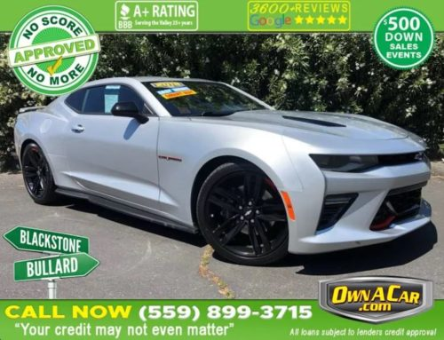 This Chevrolet Camaro 2SS is Sure to Impress!