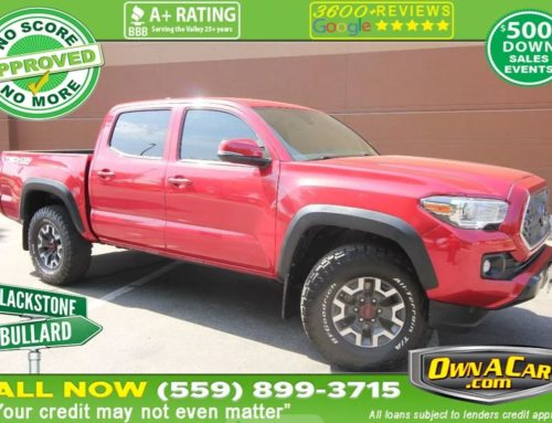 Our Tacoma Will Help You Tackle Any Task You Have!