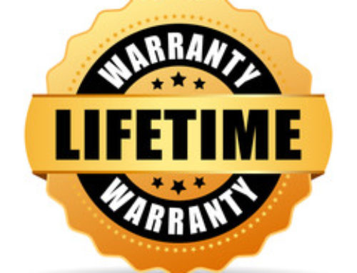 The Best Warranty Around? We Think So! Check it Out!